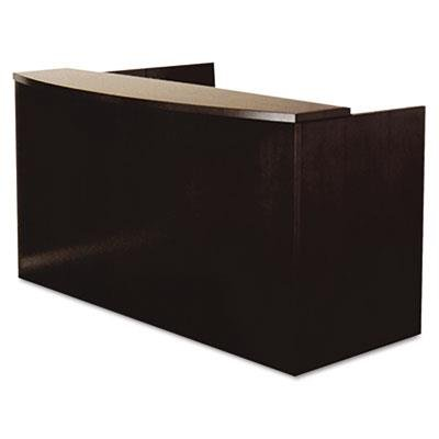 Mayline Mira Series Reception Desk in Espresso