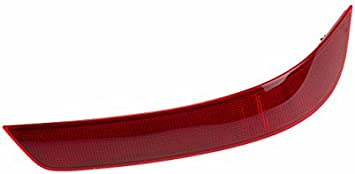 UPSM Left Side Rear Bumper Reflector Red Fit for Mercedes-Benz 2010 2011 2012 GL350 GL450 GL550 1648200974 164 820 09 74