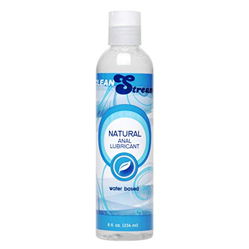 Natural Lubricant Base Water - Water-based Natural Lube,  8 Ounce