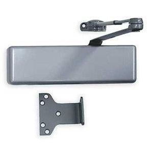 LCN 4041-DEL-AL Delayed Action Door Closer with Rw/62, Aluminum Powder Coat Finish