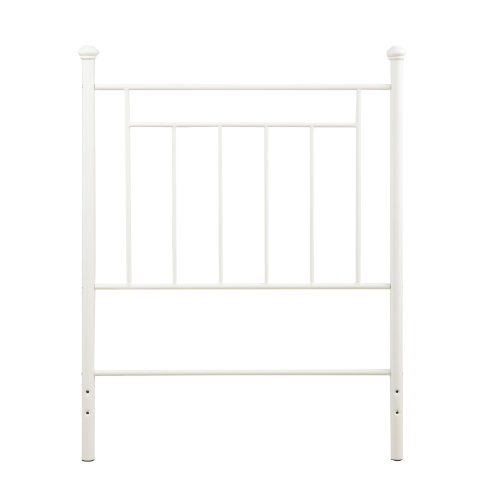 Great Features Of Dorel Living Metal Headboard, Twin, White