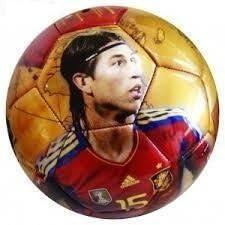 Balon de futbol de la roja Sergio Ramos Seleccion española ...