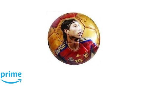 Balon de futbol de la roja Sergio Ramos Seleccion española: Amazon ...