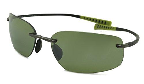 Maui Jim Kumu Polarized Sunglasses Gunmetal / Maui HT One - Maui Kumu Jim