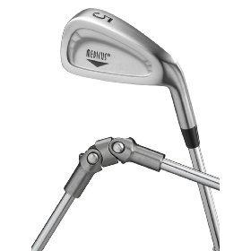 Medicus DualHinge 5 Iron Golf Training Club w/ 9 Breaking Points. Mens Standard - Iron Length Standard