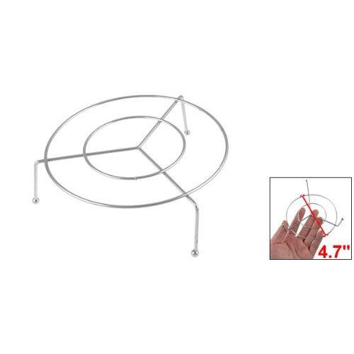R support a vapeur SODIAL Maison Cuisine Cuisson Acier inoxydable 4,7 Diametre rond support a vapeur