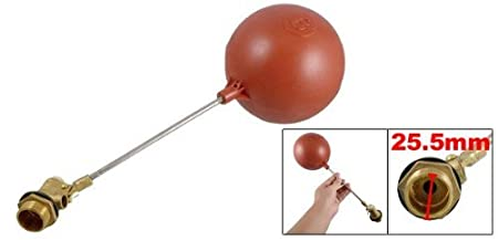 Amazon.com: eDealMax Sensor de nivel de agua líquida 3/4 rosca de plástico magnético de boya roja: Home & Kitchen