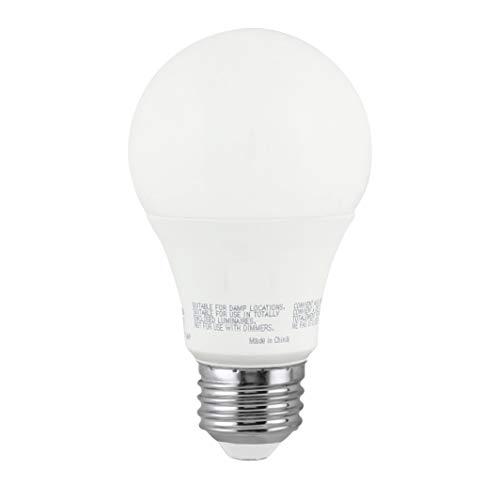 LED A19 3 Way Light Bulb, 4W/8W/14W, (40W/60W/100W Equivalent), 3000K Bright White, E26 Medium Base, 120V, Energy Star, (1 Pack)