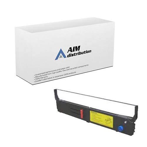 AIM Compatible Replacement for Okidata ML-4410 Black Printer Ribbons (6/PK) (40629303) - Generic