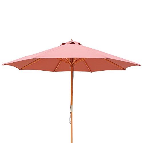 Cotta Finial Terra (Island Umbrella NU5426TC Tranquility Patio Market Umbrella, Terra Cotta)