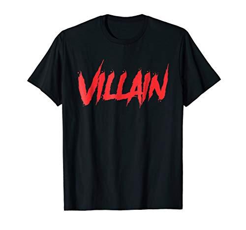 Hello my name is villian T-shirt Halloween Costume Gift -
