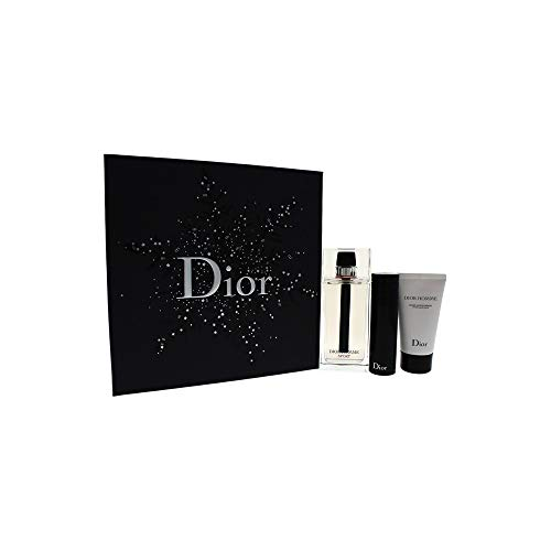 Christian Dior Homme Sport 3 Peice Gift Set Edt Spray for Men, After Shave Balm, 3 Count ()