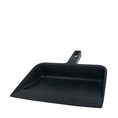 Continental 712 Black Plastic Industrial Dust Pan