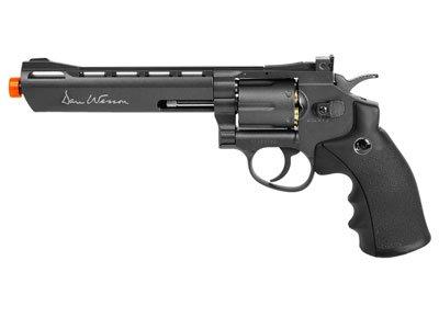 ASG Dan Wesson Revolver Airsoft con motor de CO2, gris, 6