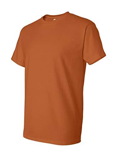 Gildan mens DryBlend 5.6 oz. 50/50 T-Shirt(G800)-TEXAS ORANGE-3XL