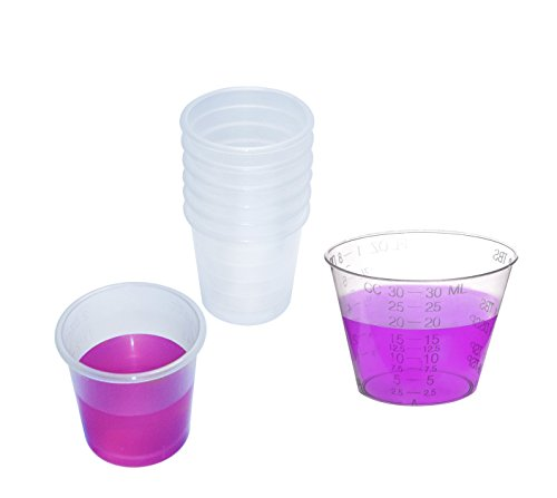 Medicine Cup Mix Pack - One Ounce and Two Ounce Medicine Cups - FDA Approved
