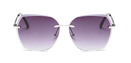 retro Lennon polarisées vintage soleil du Gradient Gris inspirées lunettes de rond cercle métallique en style cwnBTE84Yq