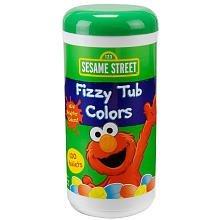 Sesame Street Fizzy Tub Color Tablets - 10.58 oz.