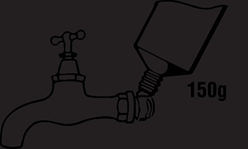T381100 150 g 1 St/ück Wasser und Heizungsanlagen zur Verwendung mit Flachs giftfrei f/ür metallene Gewindeverbindungen an Gas Cornat Dichtungspaste Neo-Fermit