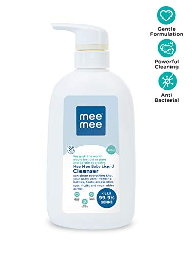 Mee Mee Anti-Bacterial Baby Liquid Cleanser (Cleanser – 500 ml – Bottle)