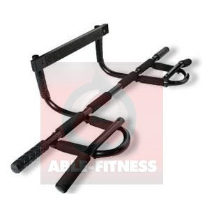 AbleFitness Heavy Duty Doorway Chin up Pull up Bar, 330 lb
