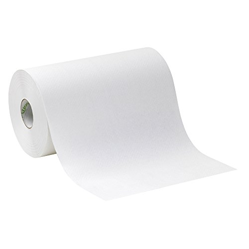 Georgia Pacific Professional 26610 Hardwound Paper Towel Roll  Nonperforated  9 X 400Ft  White  Case Of 6 Rolls