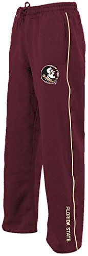 Florida State Seminoles Wine Velocity Poly Fleece Synthetic Sweatpants (XL=36-37)