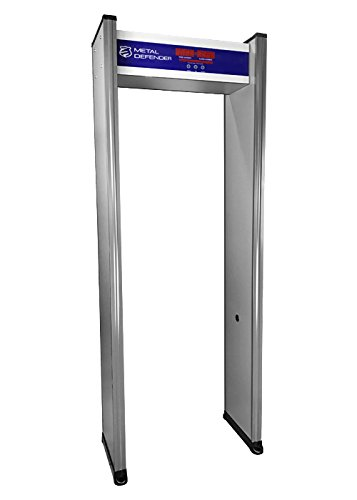 Single Zone Security Airport Walk Through Metal Detector New