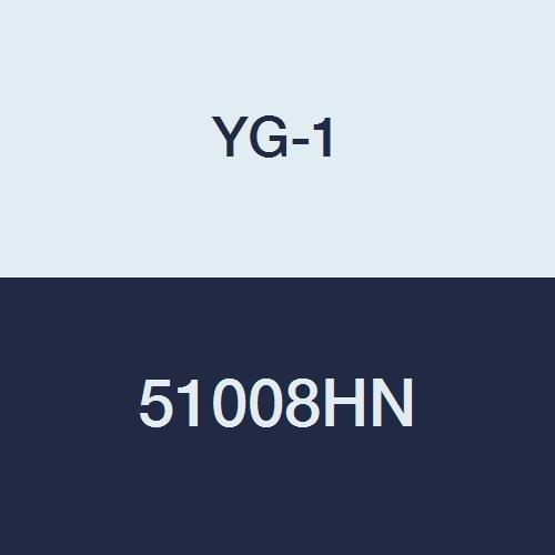 TiN Finish 2 Flute YG-1 51008HN HSS End Mill Miniature Long Length Double 2-1//2 Length 5//64
