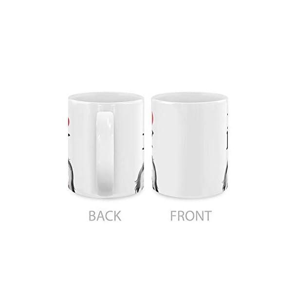 MUGBREW I Love My White Silver Havanese Dog Ceramic Coffee Gift Mug Tea Cup, 11 OZ 3