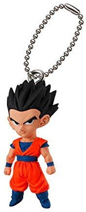 Dragon Ball Super UDM Best 22 Gohan Character Gacha Capsule Mascot Swing Key Chain Bandai (Dragon Ball Z Gashapon Capsule)