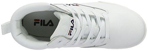 Donna Alte Scarpe Bianco Da White bright Fila Ginnastica 4010282 xqXBwgII6
