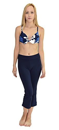 Cheap Private Island Hawaii Women UV Rash Guard Beach Capri Pants Leggings, Outdoor Clothing / YCP for sale