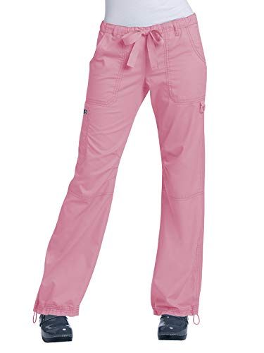 KOI 701P Women's Lindsey Petite Scrub Pant (Blush, Small Petite) (Countries With Best Medical Care)