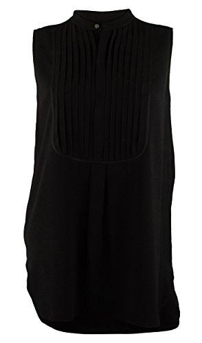 Polo Ralph Lauren Women's Sleeveless Bib-Front Shirt Tunic-PB-10 (Pb Tunic)
