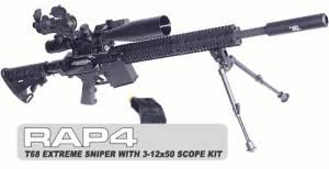T68 Extreme Sniper with 3-12x50 Scope Kit