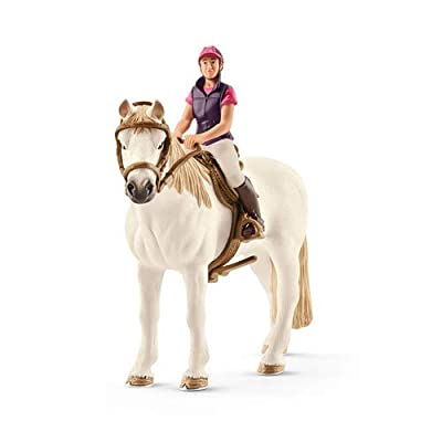 Schleich North America Recreational Rider with Horse Toy Figure: Schleich: Toys & Games