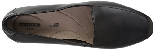 Pictures of CLARKS Women's Juliet Lora Loafer Black 26136577 Black Leather 2