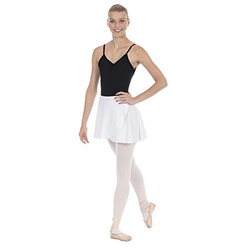 - Eurotard 44362 Teen/Adult Wrap Skirt (White)