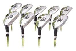 Forgan F3i Hybrid Iron Golf Club Set 3-SW Mens LEFTY Reg Flex Graphite, Outdoor Stuffs