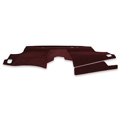 Coverking Custom Fit Dashcovers for Select Nissan 280ZX Models - Poly Carpet (Wine)