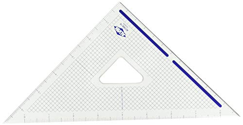 Alvin 10 inches Cutting Edge Triangle 45/90 ACT450-10 ()