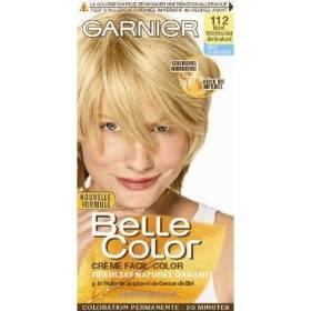 Coloration blond tres clair dore