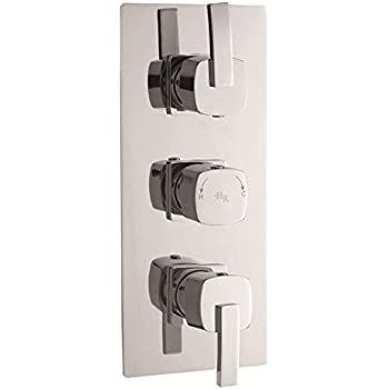 Hudson Reed Arcade Triple Concealed Thermostatic