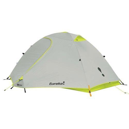 Eureka Midori 4 Person Waterproof Backpacking Tent, Lime/Grey