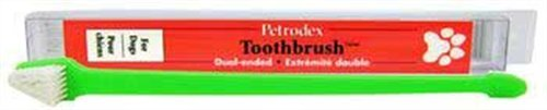 Petrodex Dual Ended Dog Toothbrush, My Pet Supplies