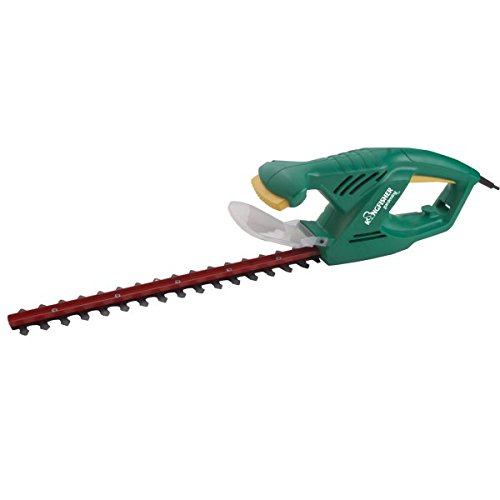 Power Hedge Trimmer : Kingfisher gpower hedge trimmer silver garden rattan