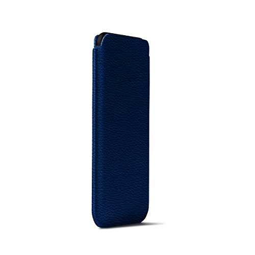 Lucrin - Classic Case for iPhone X - Royal Blue - Granulated Leather by Lucrin (Image #4)