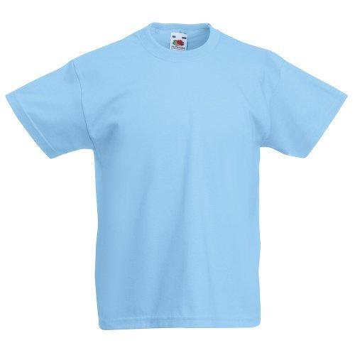 Kids Valueweight T, Größe:116;Farbe:Sky Blue 116,Sky Blue