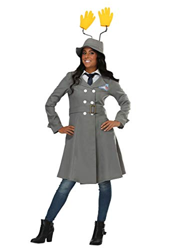Inspector Gadget Womens Costume X-Large Gray